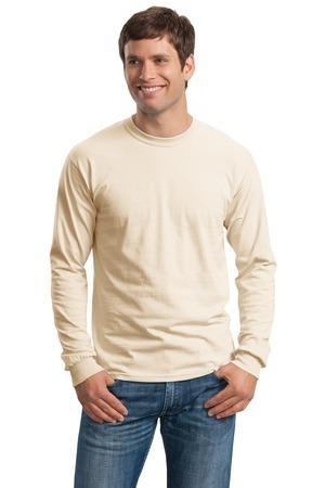Gildan® – Ultra Cotton® 100% Cotton Long Sleeve T-Shirt. G2400.